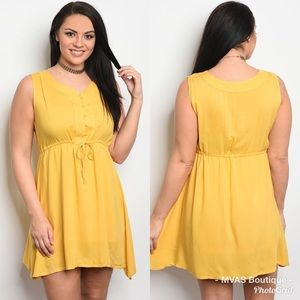 Dresses & Skirts - Mustard Dress | MAKE A OFFER